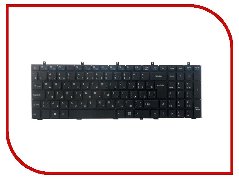 Клавиатура TopON TOP-100415 для Clevo W350 / W370 / W650 / W655 / W670 Black<br>