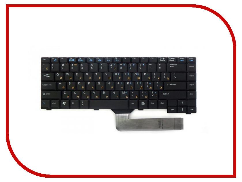 Клавиатура TopON TOP-100505 для Fujitsu-Siemens Amilo A1667 / D6830 / M1437 / M3438 / Pi1536 / Pi1556 Black