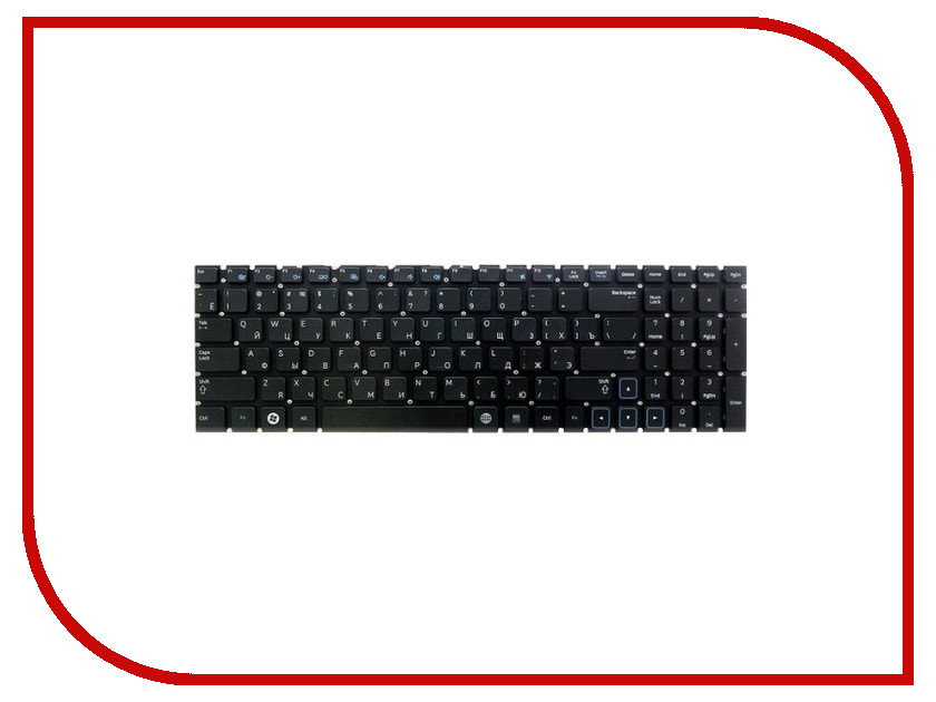Клавиатура TopON TOP-100296 для Samsung NP300E7A / NP305E7A / NP305E7A-S01RU Series Black<br>