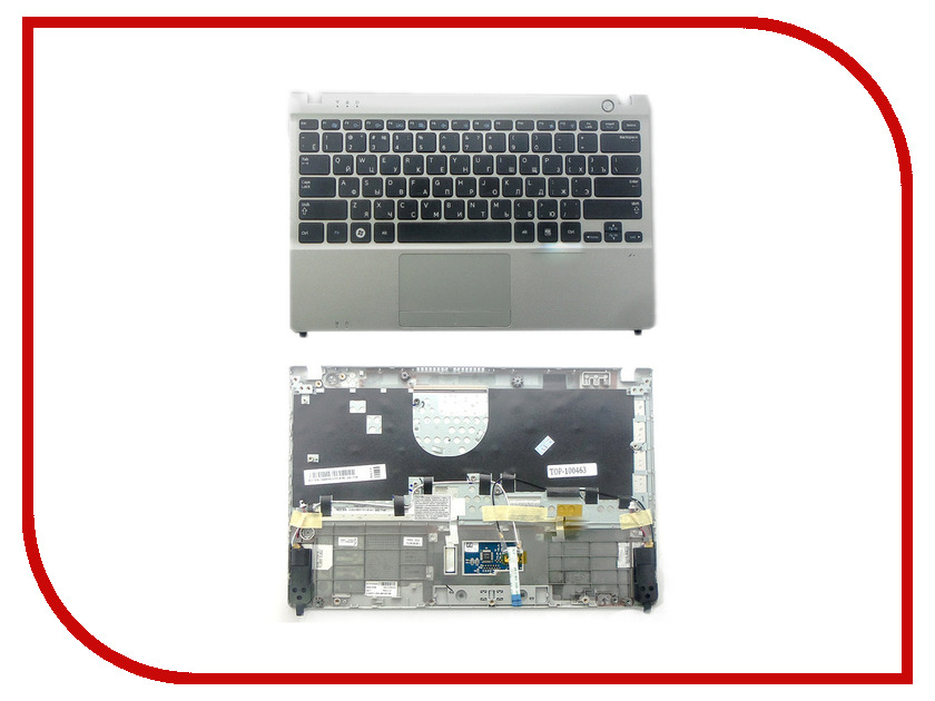 цена Клавиатура TopON TOP-100463 для Samsung NP350U2A / NP350U2B Series Black онлайн в 2017 году