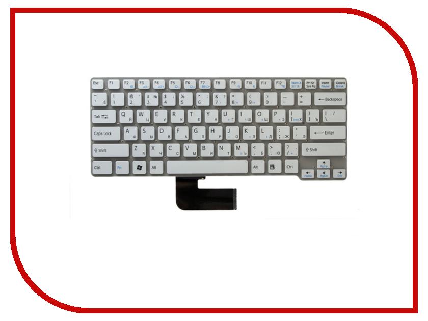 где купить Клавиатура TopON TOP-100483 для Sony Vaio VPC-CW / VPCCW / VPC-CW1E1R/BU Series White дешево