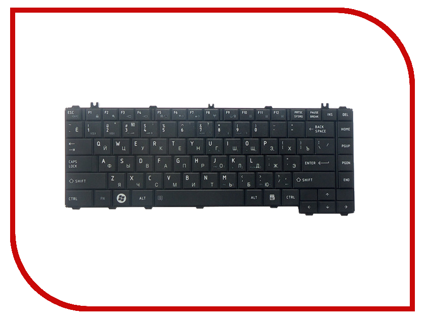 Клавиатура TopON TOP-100384 для Toshiba Satellite C600 / C600D / C640 / C640D / C645 / C645D / L600 Series Black мыло экстра 19 конопляное зейтун