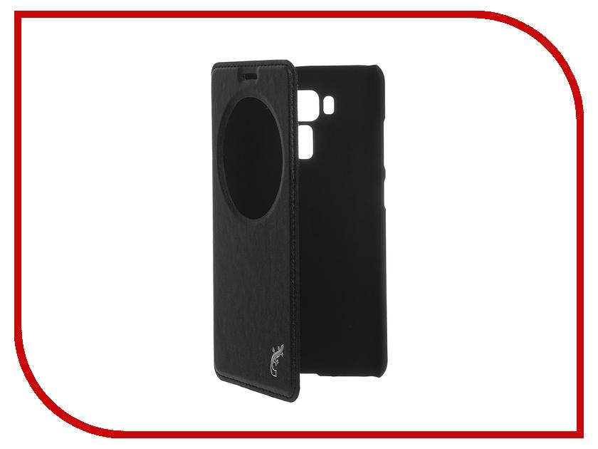 Аксессуар Чехол ASUS ZenFone 3 Laser ZC551KL G-case Slim Premium Black GG-747 g case g case slim premium для asus zenfone 2 laser ze500kl ze500kg