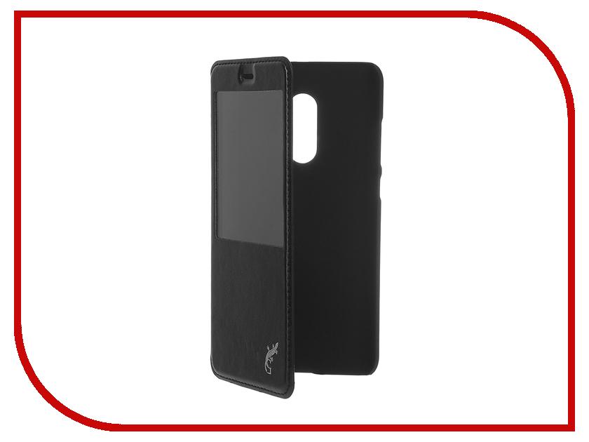 Аксессуар Чехол Xiaomi Redmi Note 4 G-case Slim Premium Black GG-749