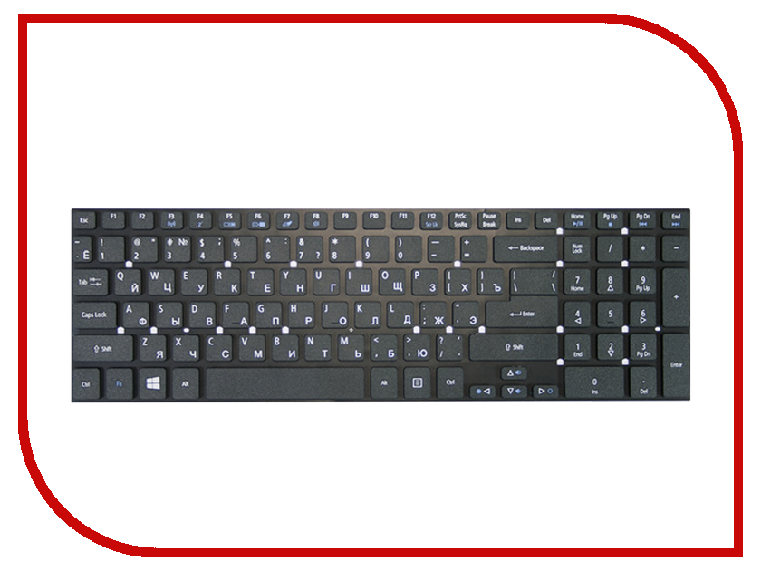 Клавиатура TopON TOP-79785 для Acer Aspire 5755G / 5755 / 5830 / 5830T / 5830G / 5830TG / 8951 / 8951G / V3 V3-551 / V3-551G / V3-571 / V3-571G / V3-731G / V3-771 / V3-771G / V3-771 / V3-771G Series / Packard Bell EasyNote LS11-HR-523ru Series Black expromizer v3 fire mtl rta