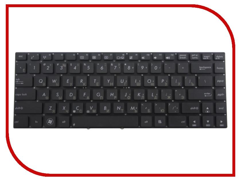 Клавиатура TopON TOP-92243 для ASUS S46 / S46CA / S46CB / S46CM Black клавиатура asus strix tactic pro cherry mx black black usb 90yh0081 b2ra00