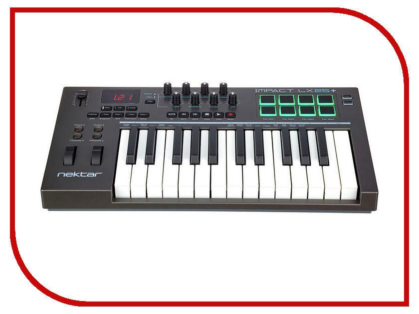 MIDI-клавиатура Nektar Impact LX25+ impact 185 r