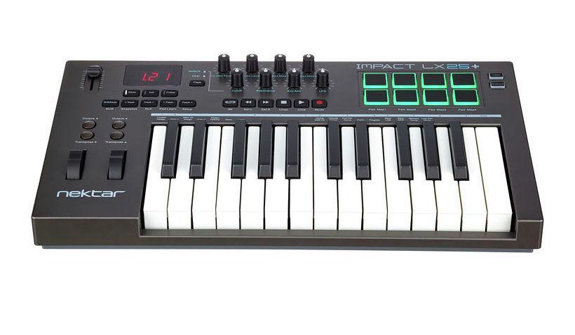 MIDI-клавиатура Nektar Impact LX25+