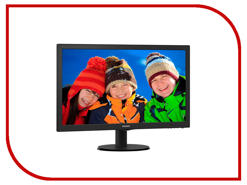 Монитор Philips 243V5QHSBA/01 монитор philips 224e5qsb 01