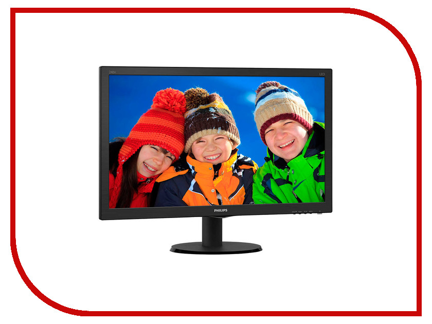 Монитор Philips 240V5QDAB/00 монитор philips 243v5lsb 00