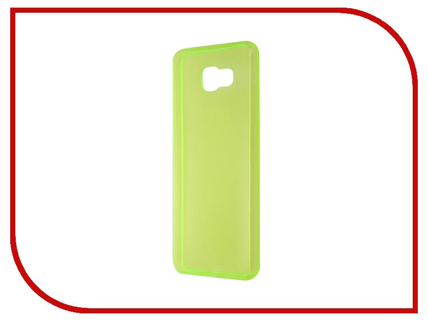 Аксессуар Чехол Samsung Galaxy A5 2016 Cojess TPU 0.3mm Green<br>