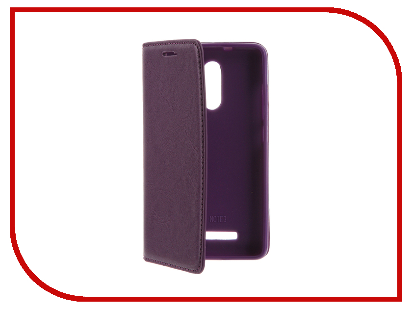 Аксессуар Чехол Xiaomi Redmi 3 Cojess Book Case Purple с визитницей