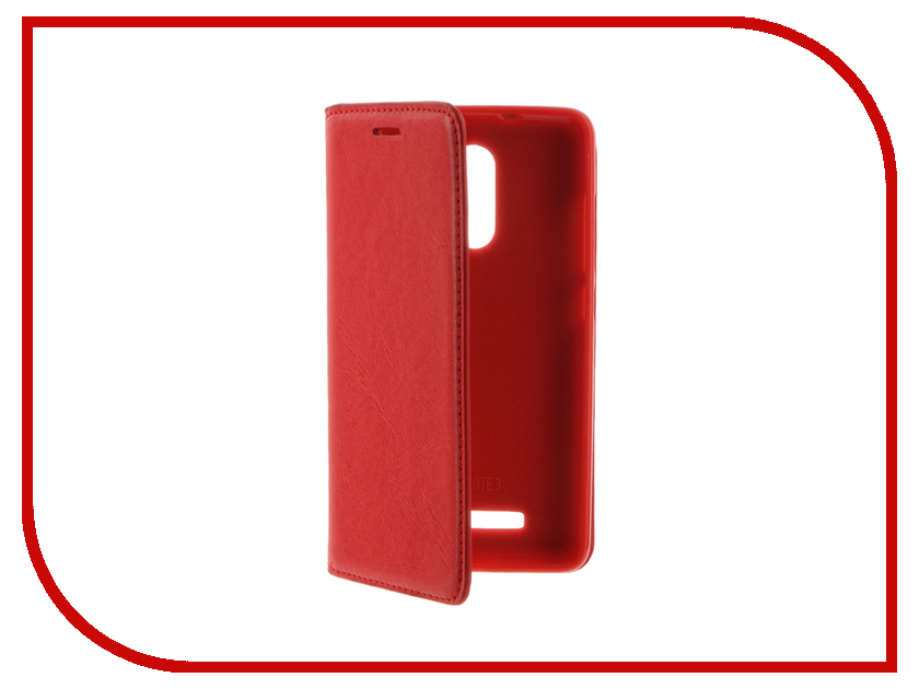 Аксессуар Чехол Xiaomi Redmi 3 Cojess Book Case Red с визитницей<br>
