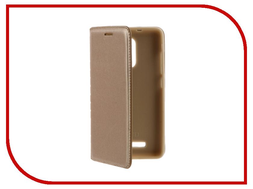 Аксессуар Чехол Xiaomi Redmi 3 Cojess Book Case New Gold с визитницей аксессуар чехол alcatel idol 4 5 2 6055k cojess book case new red с визитницей