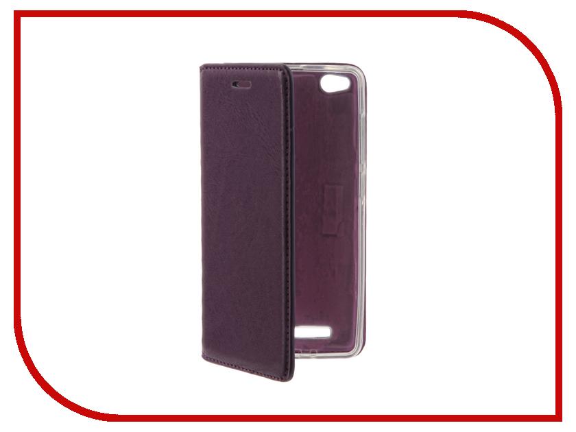 Аксессуар Чехол Xiaomi Redmi Note 3 / Redmi Note 3 Pro / Redmi Note 2 Pro Cojess Book Case Purple с визитницей<br>