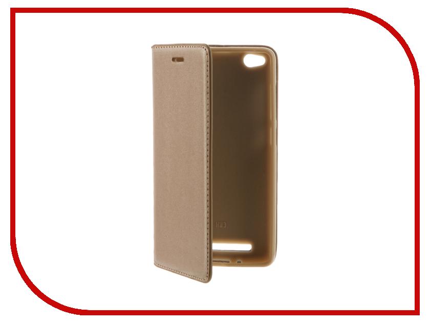 Аксессуар Чехол Xiaomi Redmi Note 3 / Redmi Note 3 Pro / Redmi Note 2 Pro Cojess Book Case Gold с визитницей
