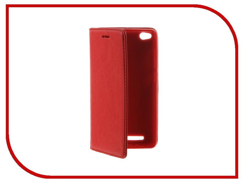 Аксессуар Чехол Xiaomi Redmi Note 3 / Redmi Note 3 Pro / Redmi Note 2 Pro Cojess Book Case Red с визитницей<br>
