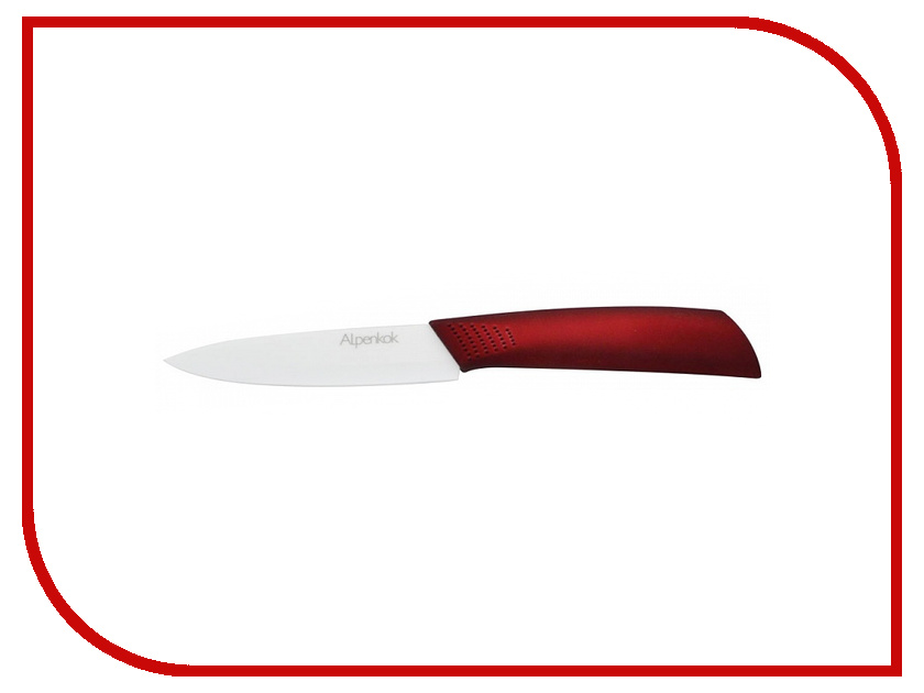 Нож Alpenkok AK-2062K L6 White-Red - длина лезвия 152мм<br>