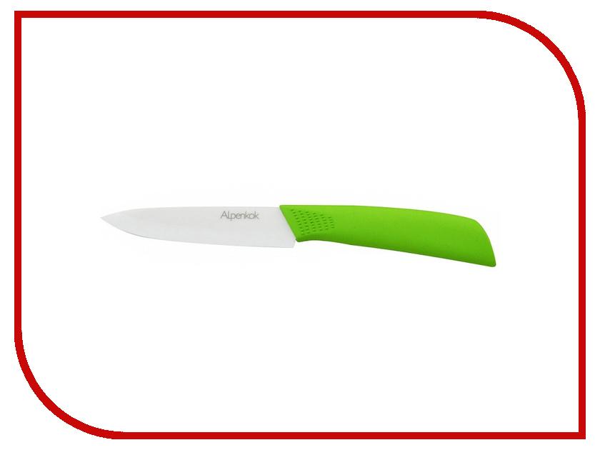 Нож Alpenkok AK-2066K L4 White-Green - длина лезвия 102мм