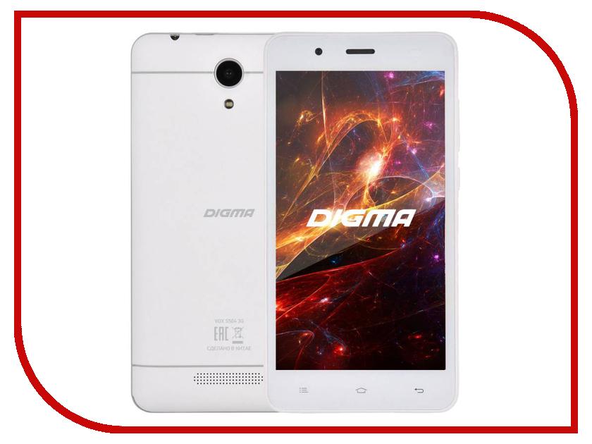 Сотовый телефон Digma VOX S504 3G White смартфоны digma смартфон g500 3g vox чёрный