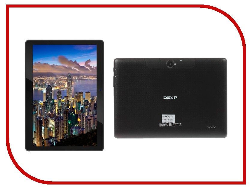 Планшет DEXP TS310 Black (Spreadtrum SC7730 1.2 GHz/1024Mb/8Gb/3G/Wi-Fi/Bluetooth/GPS/Cam/10.1/1280x800/Android)
