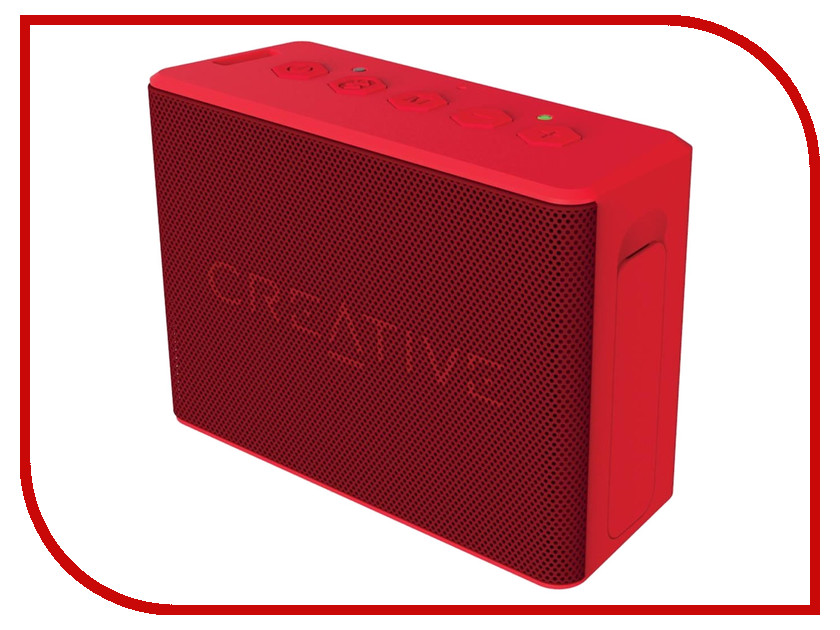 Колонка Creative Muvo 2C Red колонка creative t30 wireless