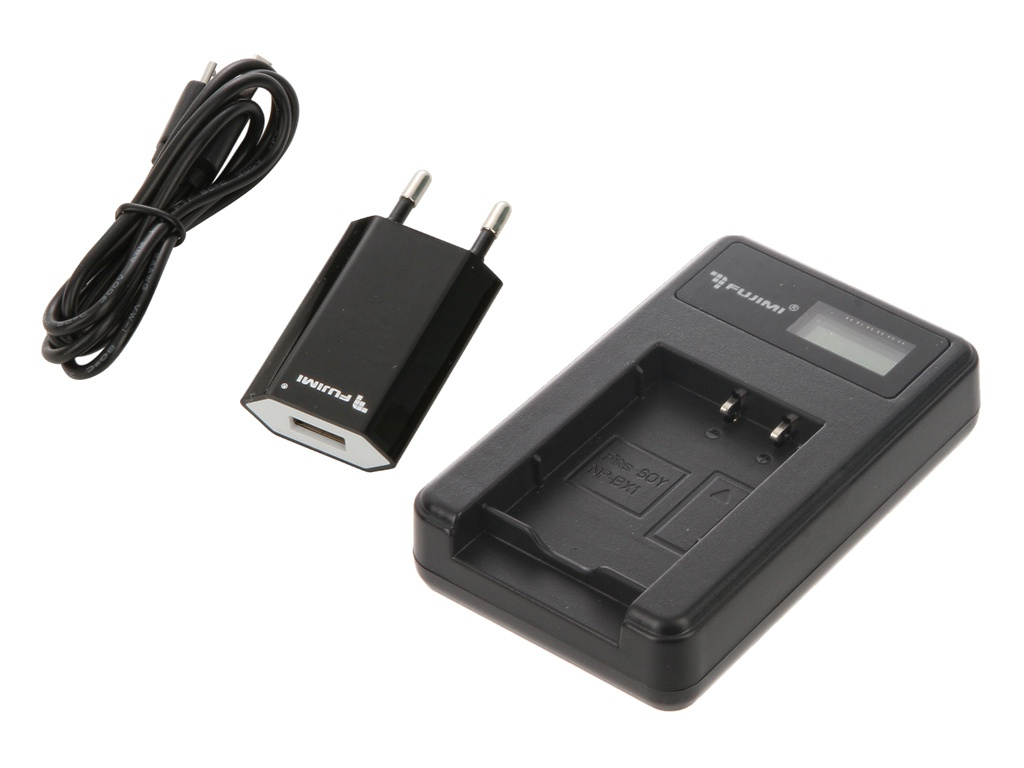 Зарядное устройство Fujimi FJ-UNC-BX1 + Адаптер питания USB 1377 мини штатив fujimi fj mmt