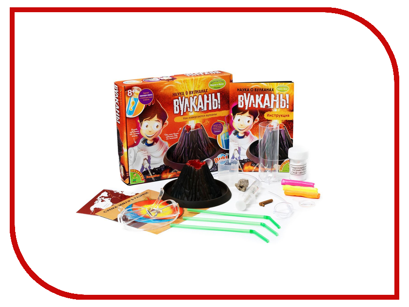Игрушка Bondibon Науки с Буки Наука о вулканах BB0935<br>