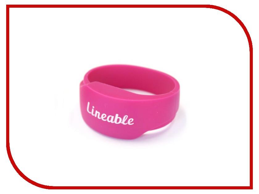 Умный браслет Детский трекер GPS Lineable Smart Band Size S Pink RWL-100PKSM<br>