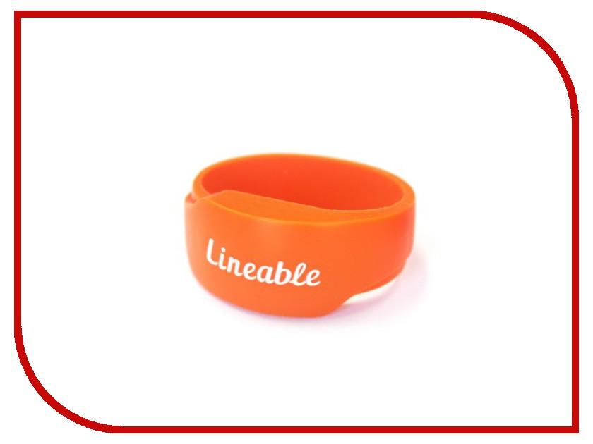 Аксессуар Детский трекер GPS Lineable Smart Band Size S Orange RWL-100ORSM