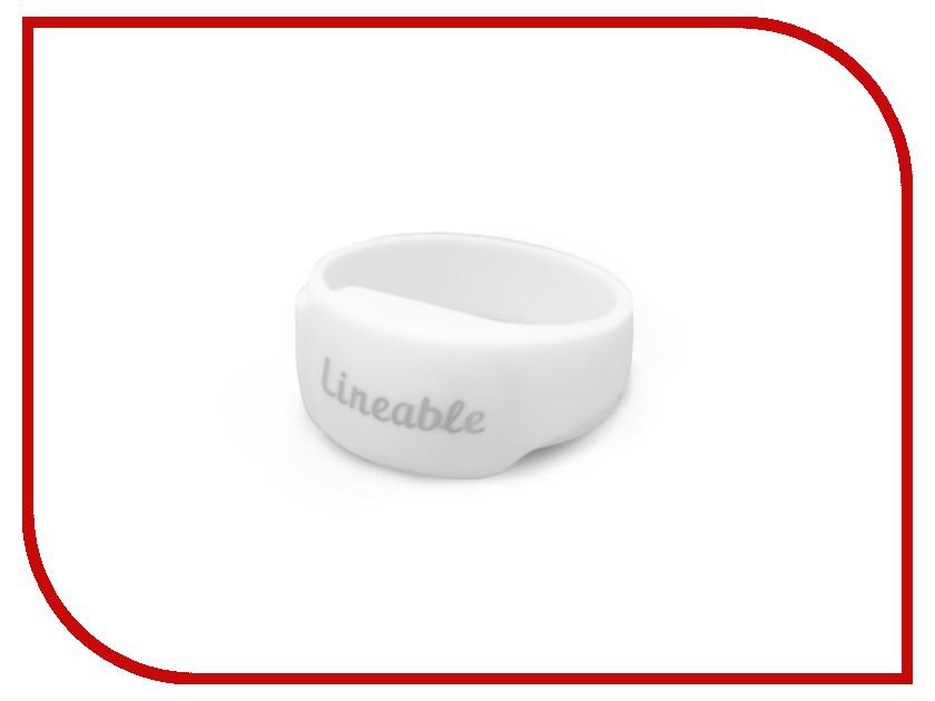 Аксессуар Детский трекер GPS Lineable Smart Band Size M White RWL-100WHMD