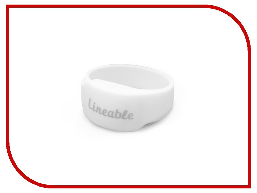 все цены на Аксессуар Детский трекер GPS Lineable Smart Band Size L White RWL-100WHLG онлайн