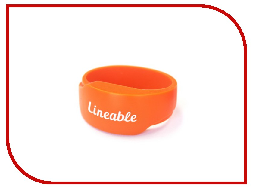 Умный браслет Детский трекер GPS Lineable Smart Band Size L Orange RWL-100ORLG<br>