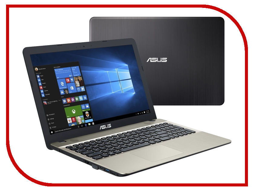 Фото Ноутбук ASUS X541SA-XX327T 90NB0CH1-M04750 (Intel Pentium N3710 1.6 GHz/2048Mb/500Gb/Intel HD Graphics/Wi-Fi/Bluetooth/Cam/15.6/1366x768/Windows 10)