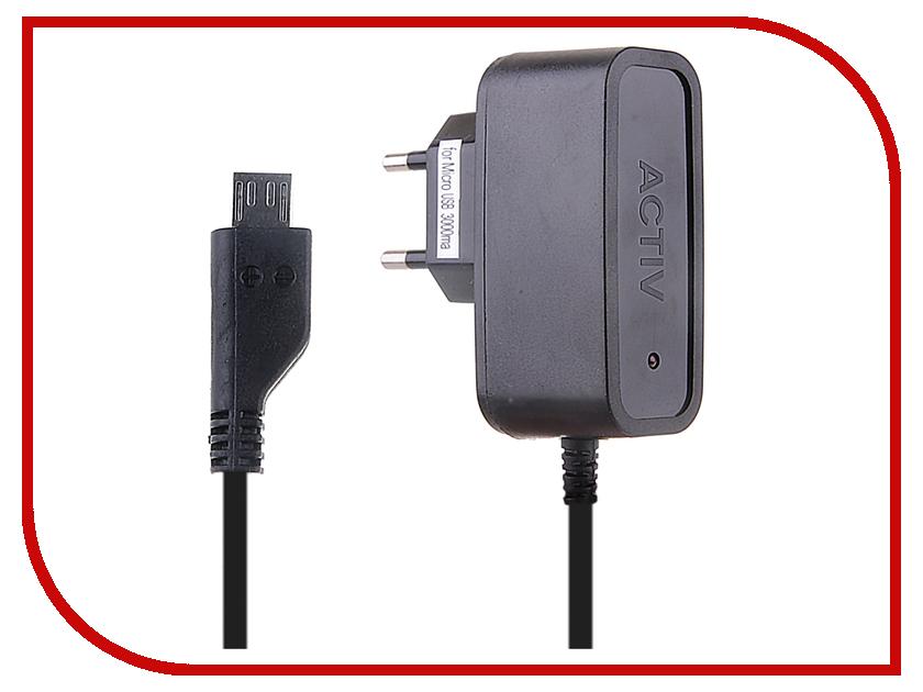Зарядное устройство Activ micro USB 1000 mA Euro Pack 48003