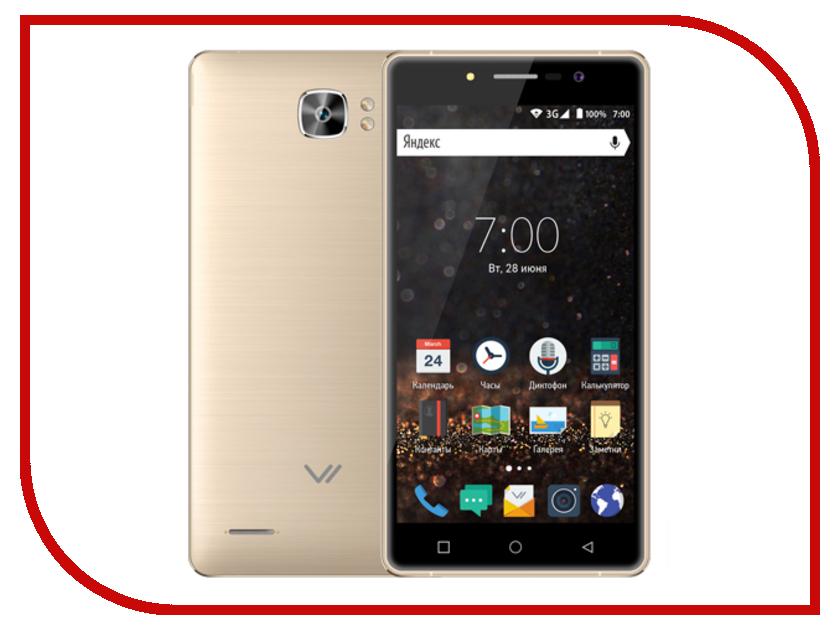 Сотовый телефон Vertex Impress Novo Gold смартфон vertex impress groove gold