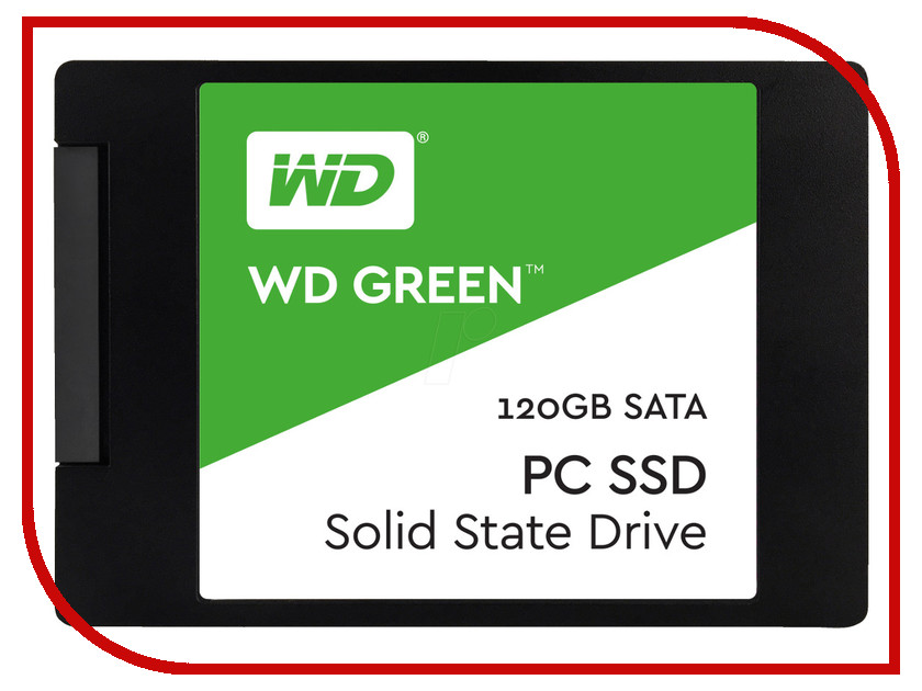 Жесткий диск 120Gb - Western Digital WD Green WDS120G1G0A bob sinclar a western video story