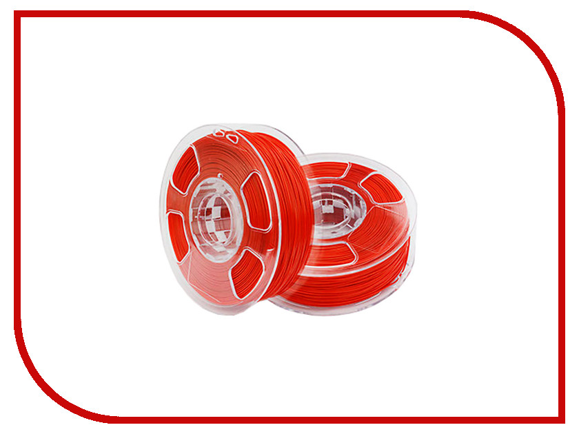 Аксессуар U3Print PLA-пластик 1.75mm 1кг Ruby Red Extra Strength<br>