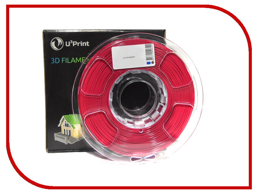 Аксессуар U3Print PLA-пластик 1.75mm 1кг Raspberry Basic Plus<br>