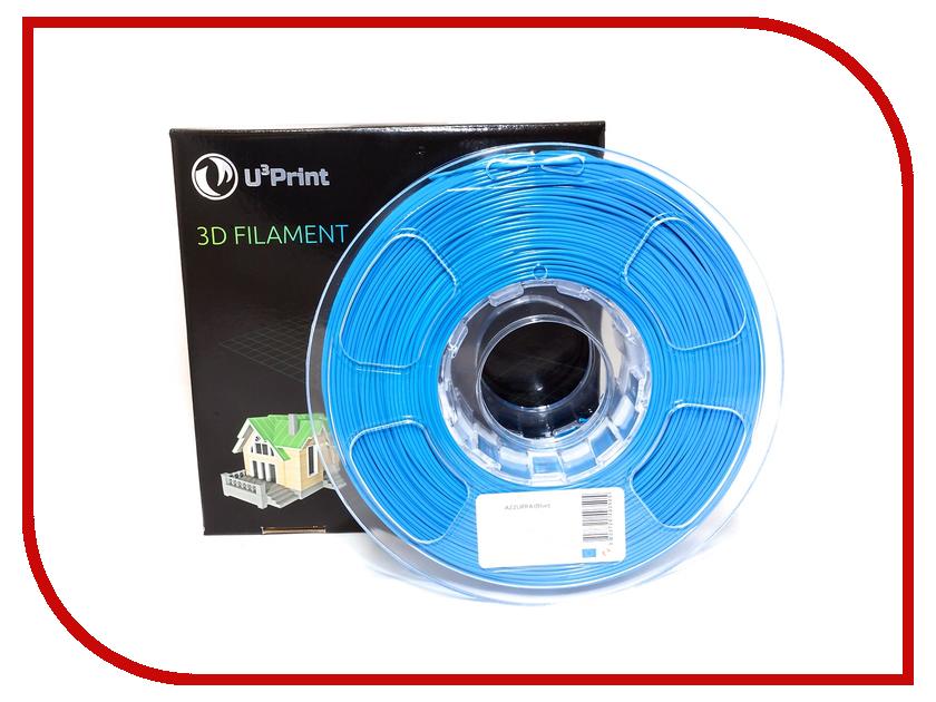 Аксессуар U3Print PLA-пластик 1.75mm 1кг Basic Plus Azzure Blue<br>