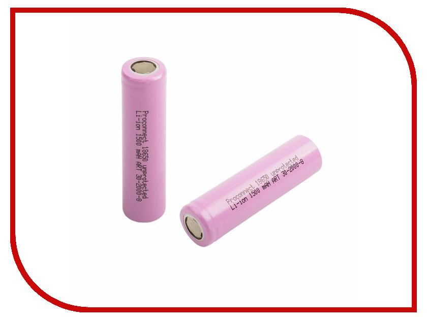 Аккумулятор Proconnect 18650 Li-Ion 1500 mAh 30-2000-8-01<br>