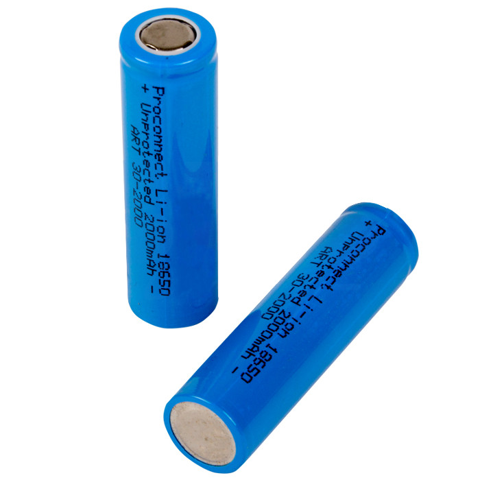 Аккумулятор ProConnect 10 штук 18650 Li-Ion 2000 mAh 3.7V 30-2000 unsurpassed performanc soshine 18650 2900mah 3 7v rechargebale li ion battery with protected board 2pcs