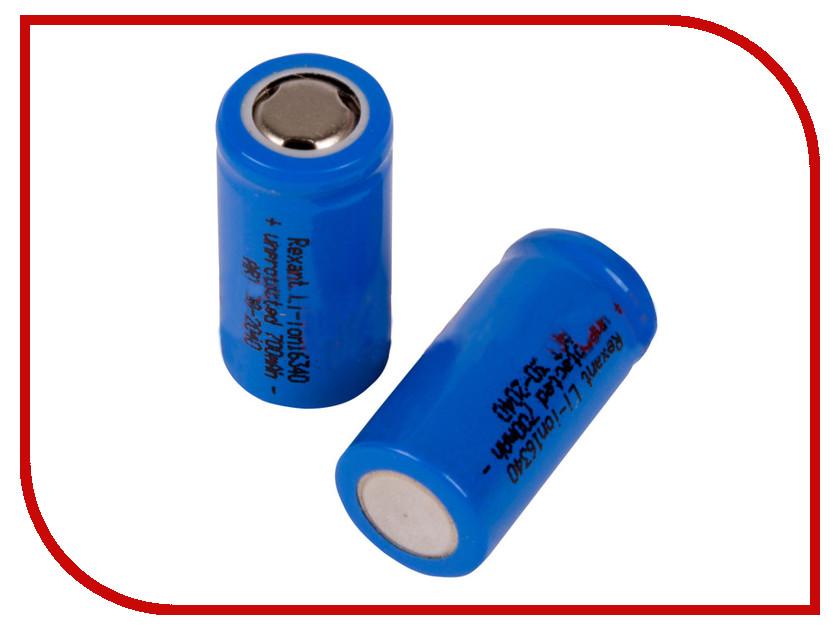 Аккумулятор Rexant Li-Ion 16430 700 mAh 3.7V 10шт 30-2040<br>