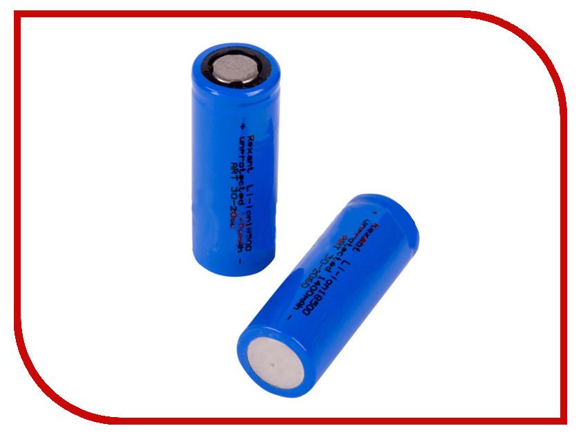 Аккумулятор Rexant Li-Ion 18500 1400 mAh 3.6V 30-2060