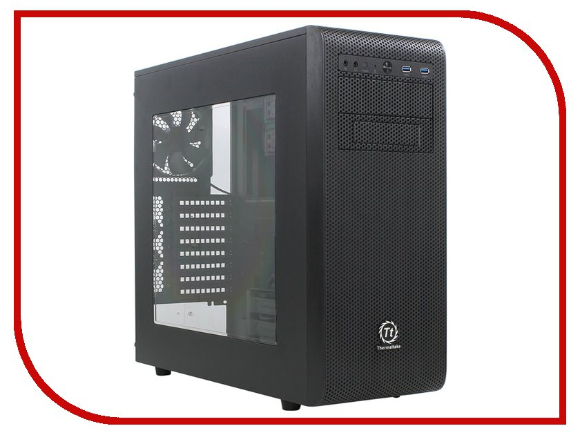 Корпус Thermaltake Core V31 Black CA-1C8-00M1WN-00