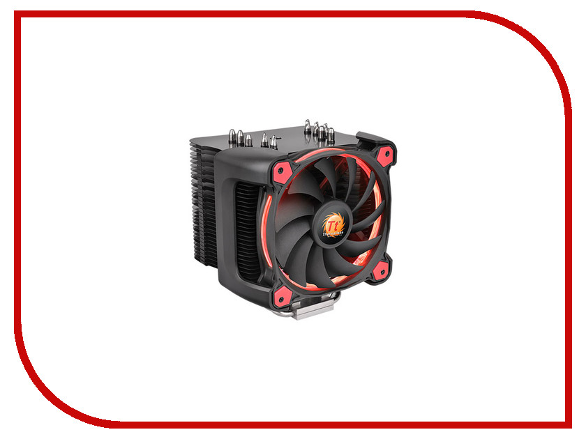 Кулер Thermaltake Cooler Riing Silent 12 Pro Red CL-P021-CA12RE-A thermaltake bigwater 760 pro clw0220