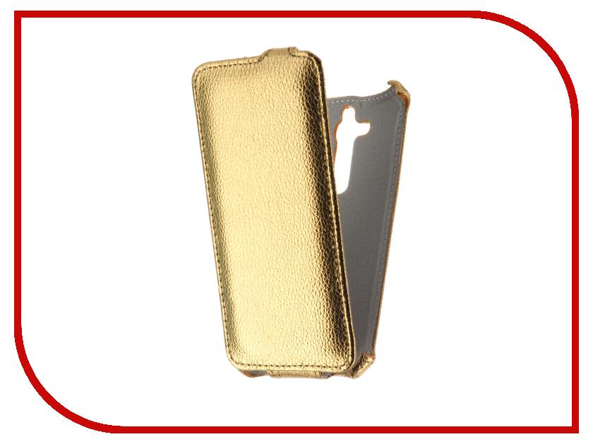 Аксессуар Чехол ASUS Zenfone GO ZB500KL Zibelino Classico Gold ZCL-ASU-ZB500KL-GLD аксессуар чехол asus zenfone 3 max zc520tl zibelino classico zcl asu zc520tl blk