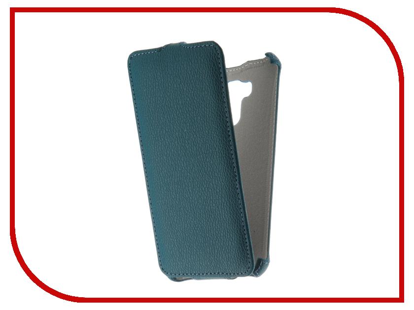 Аксессуар Чехол ASUS Zenfone 3 MAX ZC553KL Zibelino Classico Turquoise ZCL-ASU-ZC553KL-TQS сотовый телефон asus zenfone 3 max zc553kl 32gb silver