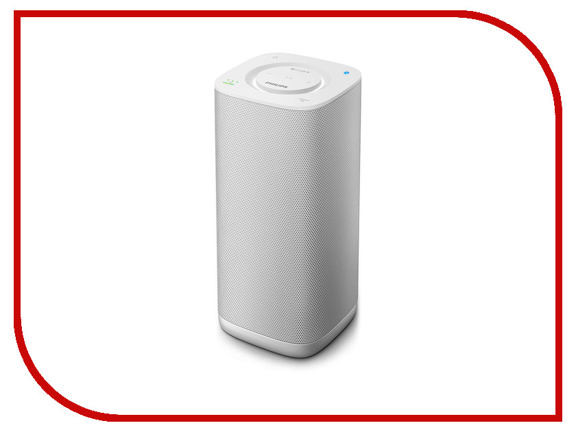 Колонка Philips BM6 White колонка портативная philips p9xblk 10