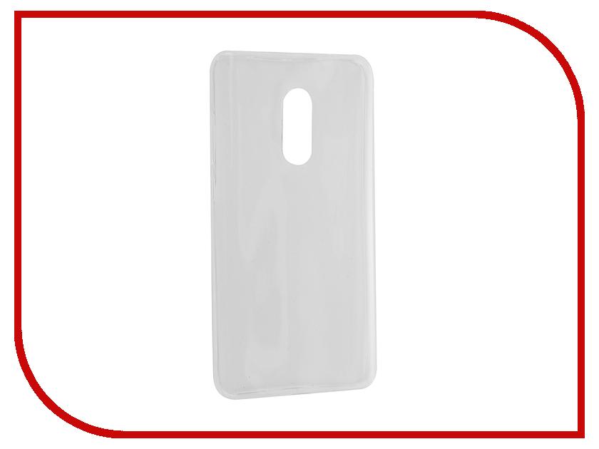 Аксессуар Чехол Xiaomi Redmi Note 4 Svekla Transparent SV-XIREDN4-WH<br>
